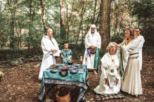 Consecration of Claire (Archdruid of Water) by Dana (Grand Archdruid)
