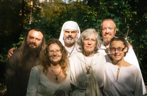 Six members of the Grand Grove